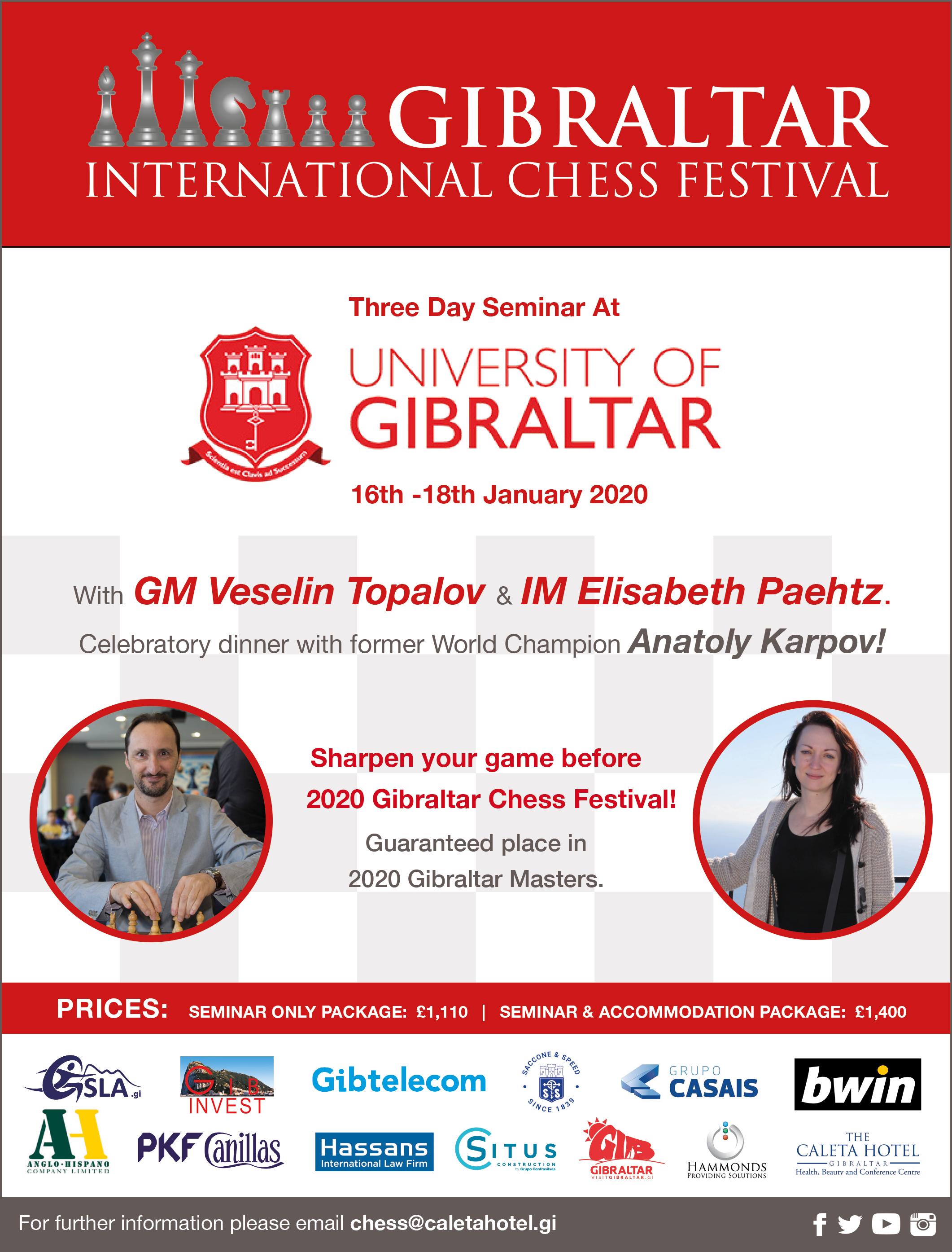 Festival Of Neggs 2020.Gibraltar Chess Festival 2020 Festival 2020