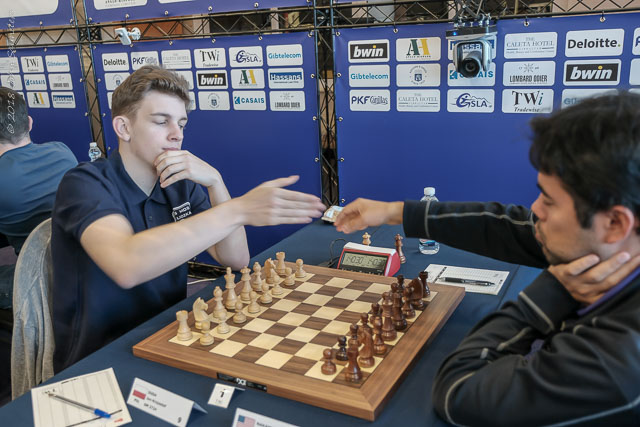 Masters Round 5 - Nakamura Forges Ahead Image